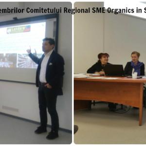 Intalnirea Comitetului Regional de Reprezentanti SME Organics acppa crisana asociatia crisana oradea